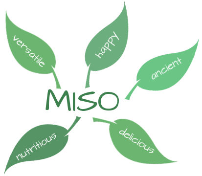 miso is nutritious, versatile, happy, ancient, delicious